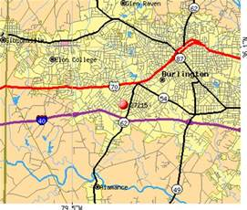 map of burlington carolina 27215 zip code burlington carolina profile
