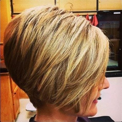 stacked bob haircut pictures with bangs 2018 latest short stacked bob haircuts with bangs