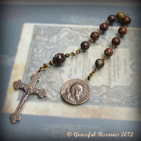 Handmade Rosary - chaplets one decade rosary tenners
