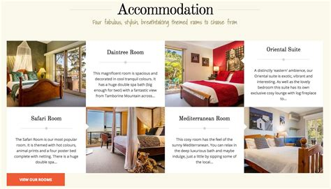 bed and breakfast website 5 excellent small hotel websites to draw inspiration from