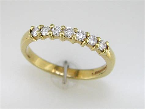 7 Beautiful Eternity Rings by 18 Carat Gold Eternity Ring Unique 18 Carat Yellow