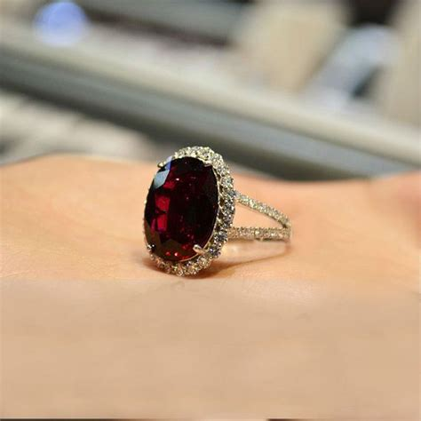 1000 ideas about garnet engagement rings on