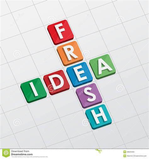 flat design text effect fresh idea crossword flat design stock image image of