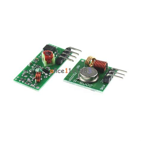 315mhz Wireless Wl Rf Transmitter And Receiver Link Kit Arduino Pi 2pcs 315mhz wl rf transmitter and receiver link kit for arduino arm mcu