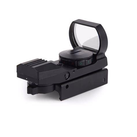 11mm 20mm rail riflescope airsoft optics scope holographic dot sight reflex 4