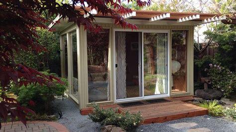 backyard house kits backyard eichlers mid century modern sheds eichler