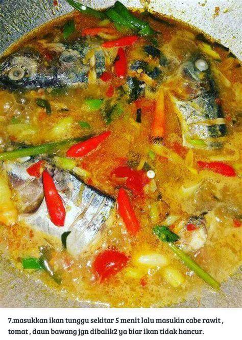 resep ikan tongkol masak woku khas manado resepkokico