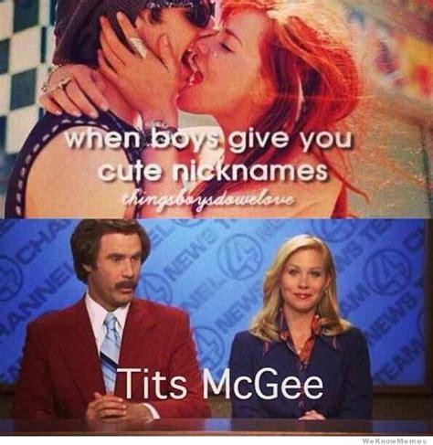Things Boys Do We Love Meme - when boys give you cute nicknames weknowmemes