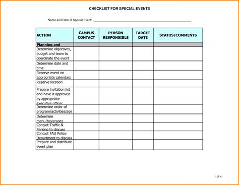 Planning Schedule Template Excel by 10 Event Plan Template Excel My
