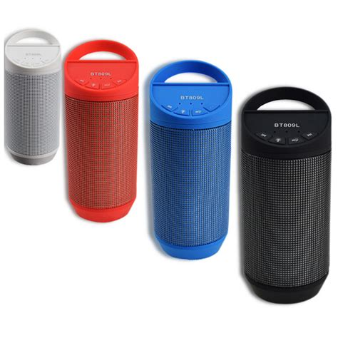 Speaker Bluetooth Semarang speaker bluetooth led bt809l black jakartanotebook