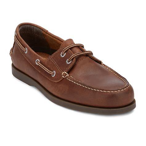 mens boots shoes mens dockers vargas 2 eye boat moc rust
