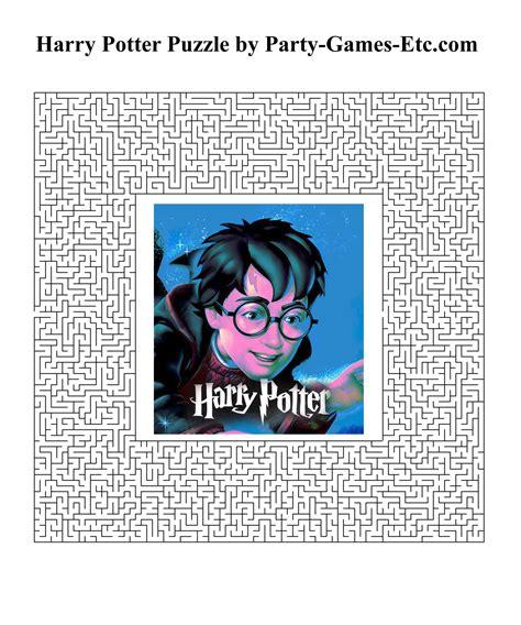 harry potter printable board games 7 best images of printable harry potter games harry