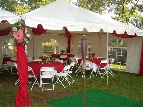 a and a party rentals 20x20 wedding tent red party rental miami