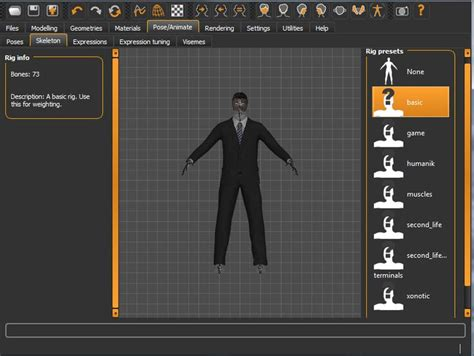 tutorial blender human how to export a make human file with rigging into blender