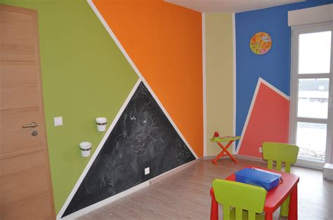 chambre enfant orange jeux photo 1 1 3497017