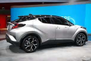 new model toyota cars new toyota c hr gets 1 2l turbo 2 0l and 1 8l hybrid