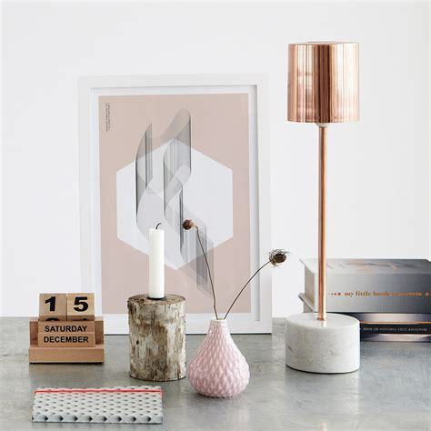 Rose Gold Home Decor Beautiful Table Lamps Side Light French Bedroom Company