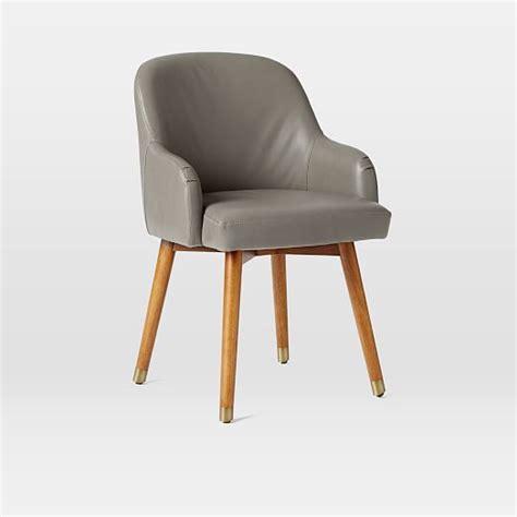 west elm saddle desk chair saddle swivel office chair leather west elm