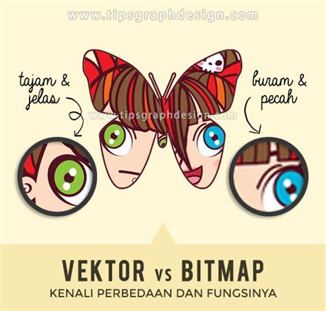 sebutkan format gambar bitmap yang umum digunakan perbedaan grafis vektor dan bitmap tips graphic design