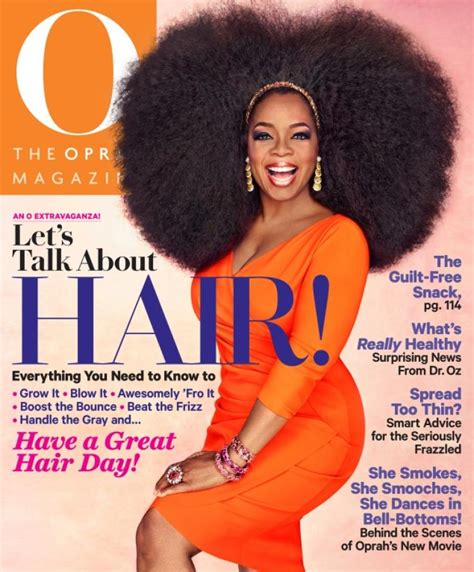 people magazine the biggest loser short blonde hair oprah winfrey dons giant 3 5 pound wig on o magazine cover