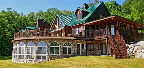 Lodge Rentals Timber Ridge Log Home Boyne City Vacation Rental With