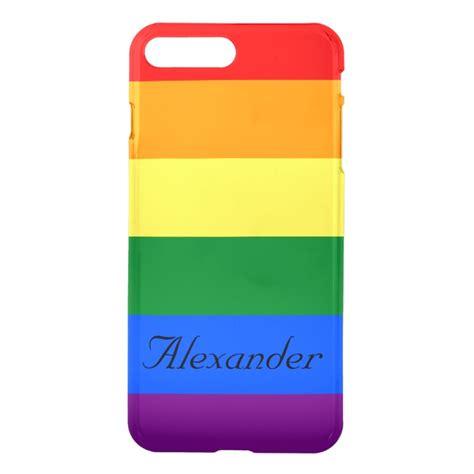 Pride Custom custom pride lgbt rainbow flag iphone 7 plus plus