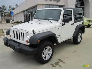 Jeep Wrangler Sport White 2010 White Jeep Wrangler Sport 4x4 27771290