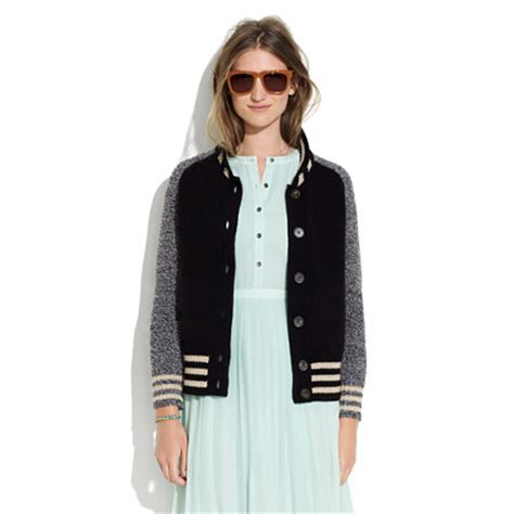 My Sweater Coat Obsession by New Outerwear Obsession Varsity Sweaters