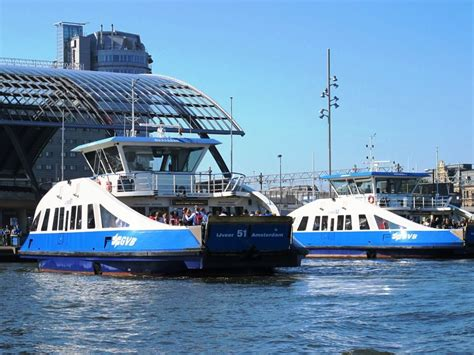 ferry boat amsterdam 8 tips to travel by public transport in amsterdam one