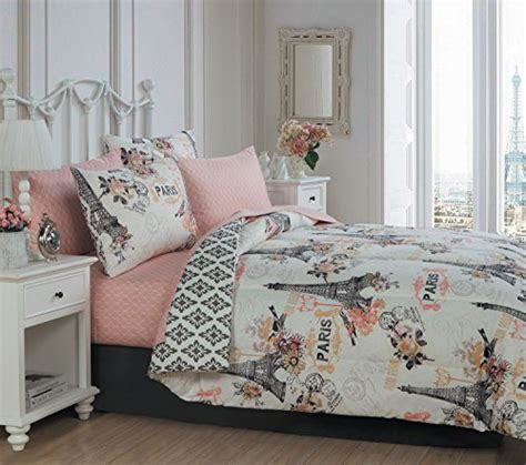 paris queen comforter set paris comforter sets