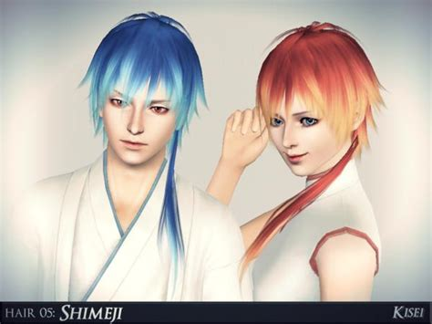 sims 4 mods manga shimeji spikey anime hairstyle by athem2310 sims 3 hairs