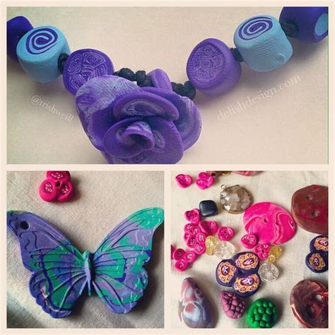 how to make jewelry with polymer clay bead with polymer clay