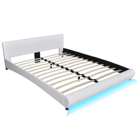 pediera letto letto con pediera a led 200 x 160 cm e tappezzeria