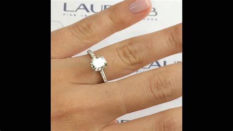 1 5 carat cushion cut engagement ring
