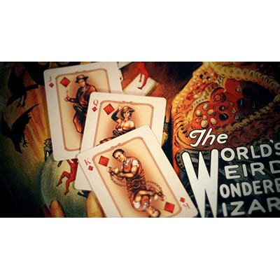 Whispering Imps Workers Edition Cards Bonus Deck the vaudeville deck by the blue crown magic tricks