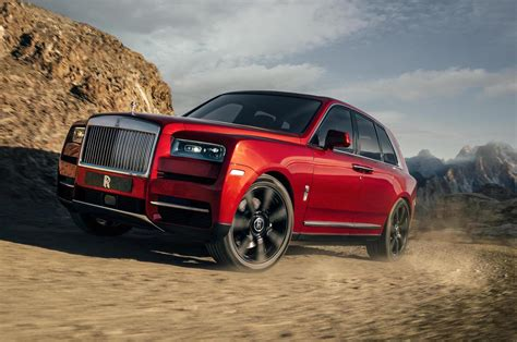 roll royce red rolls royce cullinan suv unveiled performancedrive