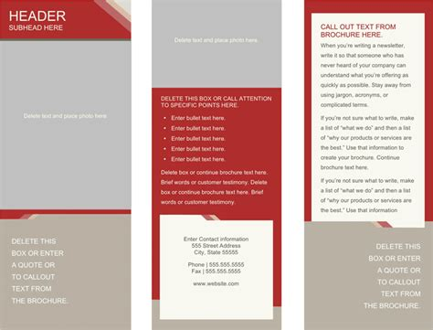 download medical brochure template 1 for free tidyform