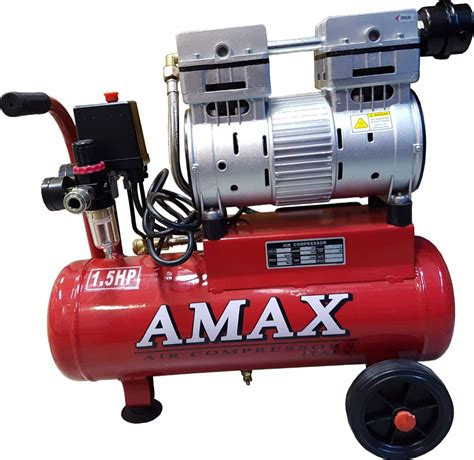 amax low noise air compressor 1 5hp 10l air compressors horme singapore