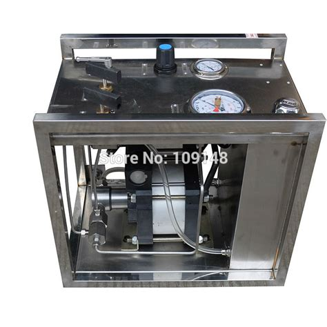 high pressure test bench model ws ah400 320mpa high pressure air hydraulic pressure test bench for wellhead in