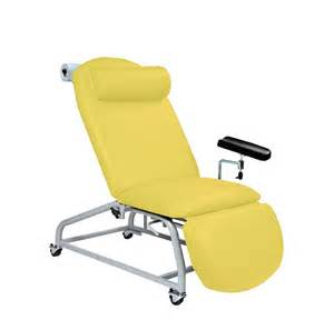phlebotomy chair reclining fixed height 4 locking castors