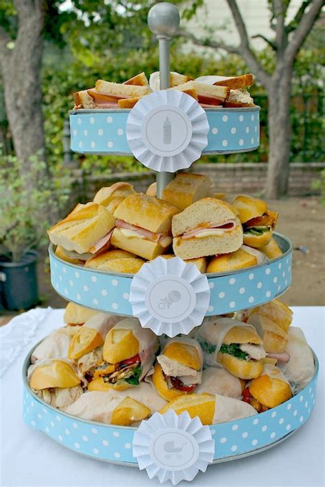 Comida Para Un Baby Shower by Ideas Decorativas Para Un Baby Shower Para Ni 241 O Tips De