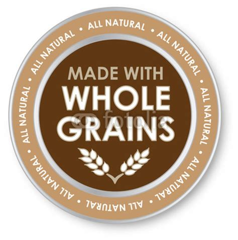 whole grain label whole grain label by jjava royalty free stock photos