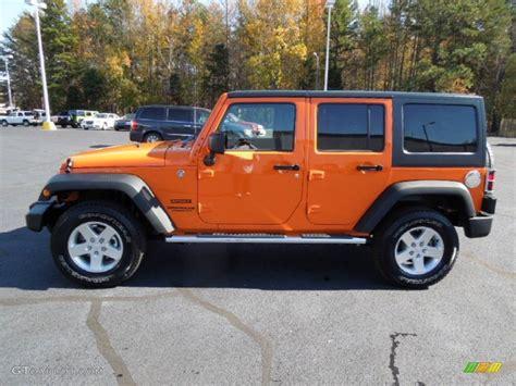 orange jeep wrangler unlimited crush orange 2013 jeep wrangler unlimited sport s 4x4