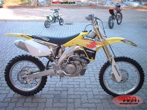 2005 Suzuki Rmz 450 Specs Suzuki Rm Z 450 2005 Specs And Photos