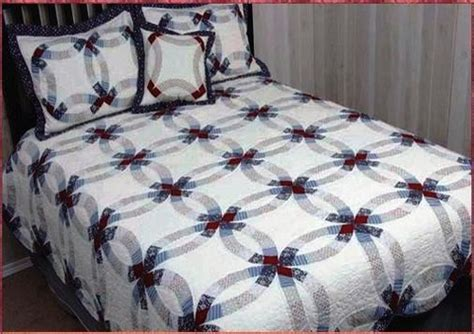 Wedding Ring Quilts King Size buy valley forge wedding ring cotton quilt king
