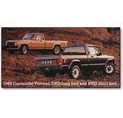 Jeep Comanche Pickup Trucks 1986 1992
