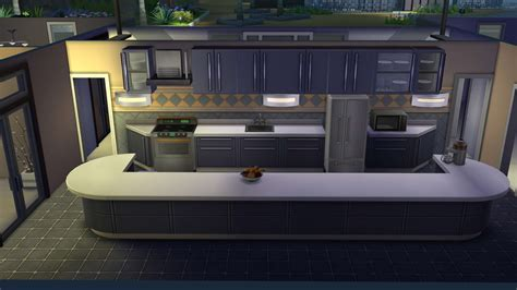 Stove In Kitchen Island by The Sims 4 Building Counters Cabinets And Islands