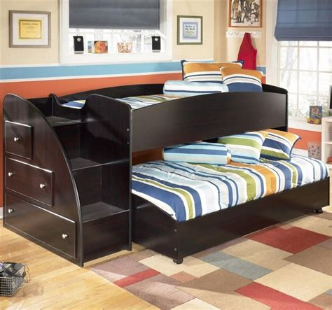 double bunk bed couch kids bedroom awesome furniture kids bunk beds in double