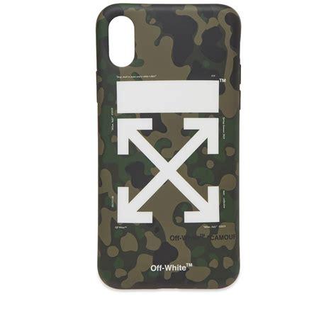 white arrow iphone  cover camo