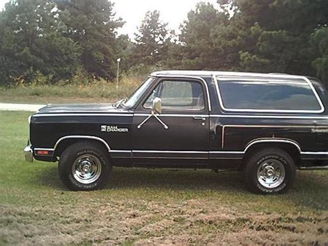 1985 dodge ramcharger specs ram charger85 1985 dodge ramcharger specs photos